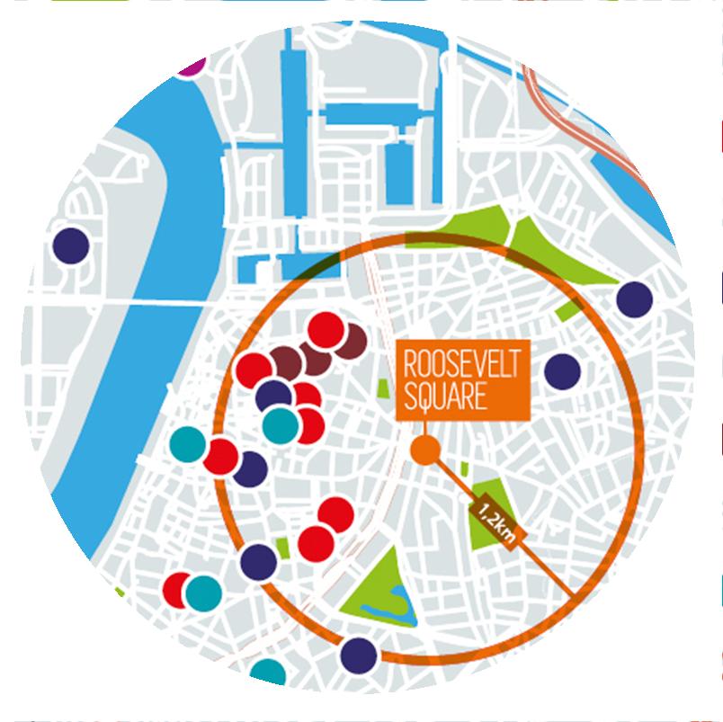 kaart locatie Antwerpen